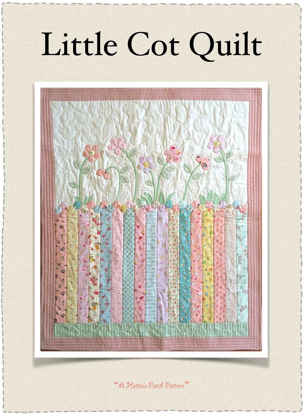 Little Cot Quilt Pattern | Cot quilt, Quilt sizes and Cots : cot patchwork quilt patterns - Adamdwight.com