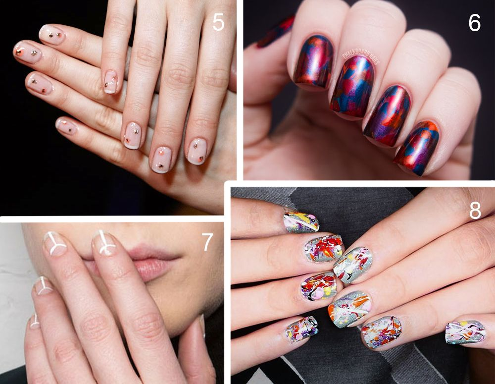 Nail Art Trends For Fall 2014winter 2016 Br Span Stylecolor