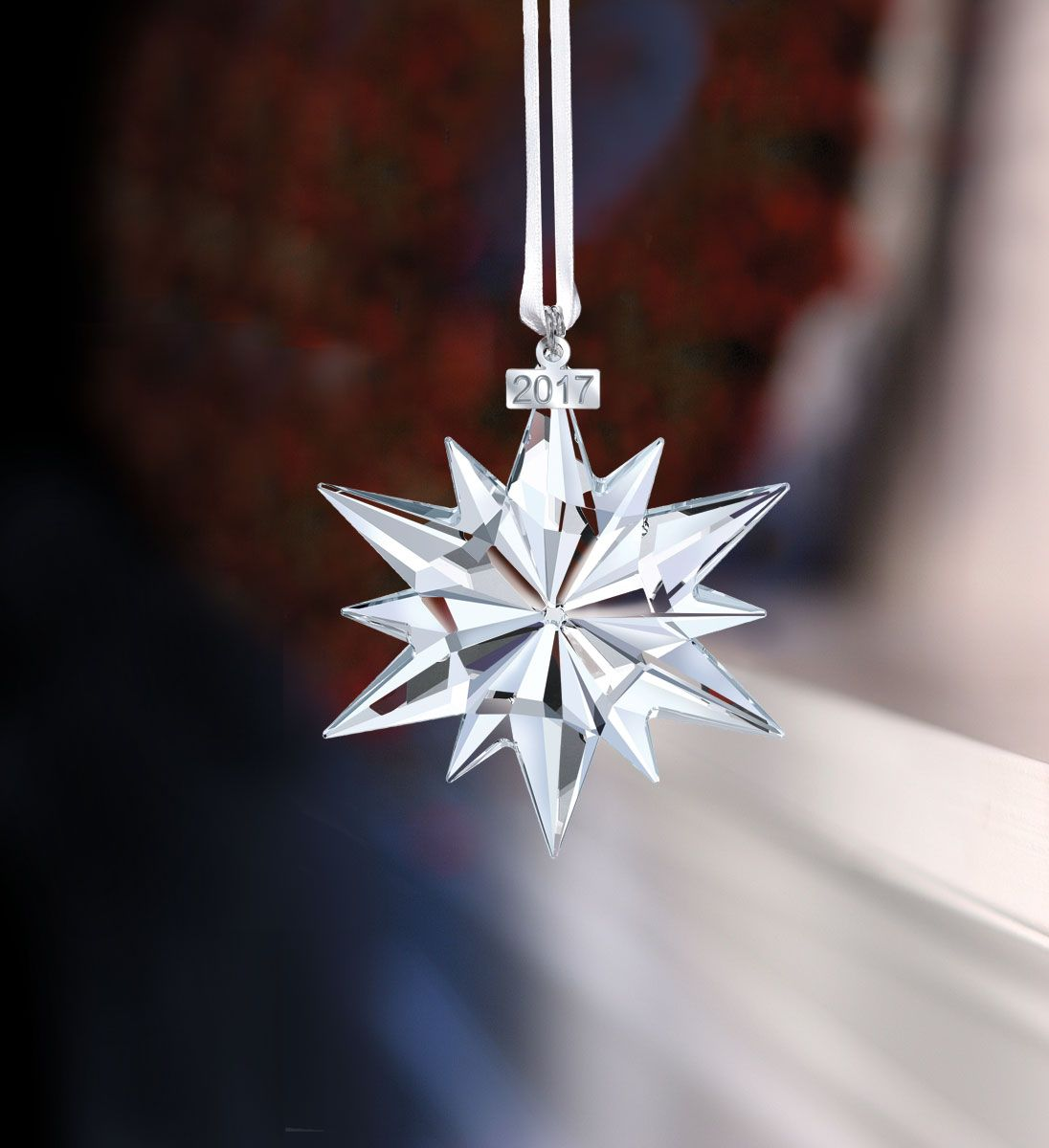 6f3b3bdba Swarovski Crystal, Annual Edition 2017 Crystal Christmas Ornament ...