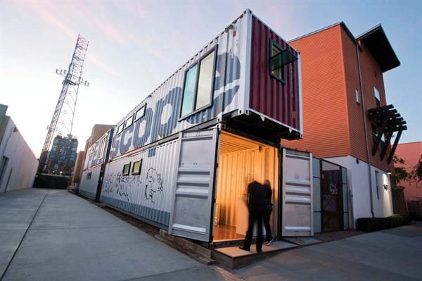 #87: Periscope Project, San Diego, Calif. / ENS_Projects ? A cooperation of artists, designers, scholars, and community advocates in four shipping containers functions as a public amenity and living visualization of alternative urban land use. #SpontaneousInterventions #VeniceBiennale