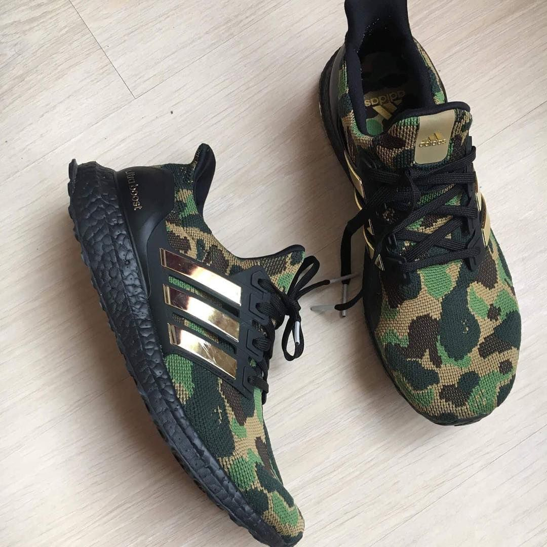 outlet store fb6cf d9916 Images of Possible BAPE x adidas UltraBOOST Sample Emerge ...
