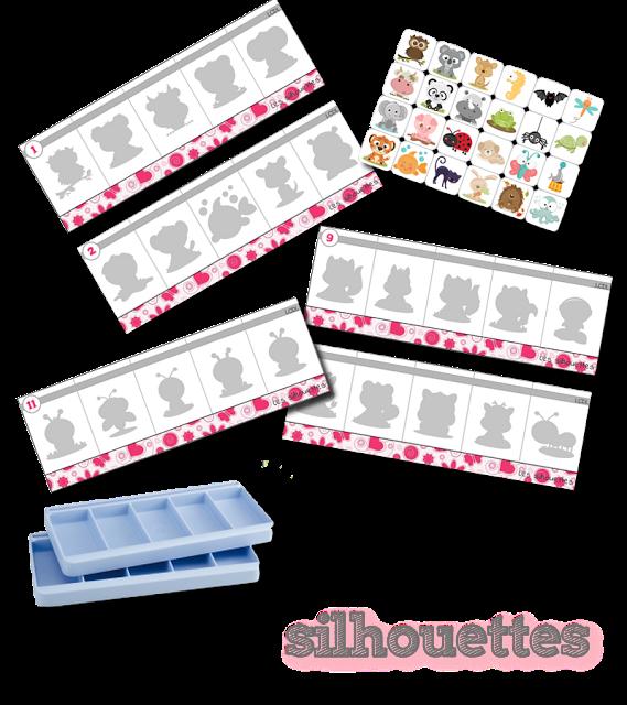 la maternelle de laur ne bac les silhouettes la classe de laurene pinterest la. Black Bedroom Furniture Sets. Home Design Ideas
