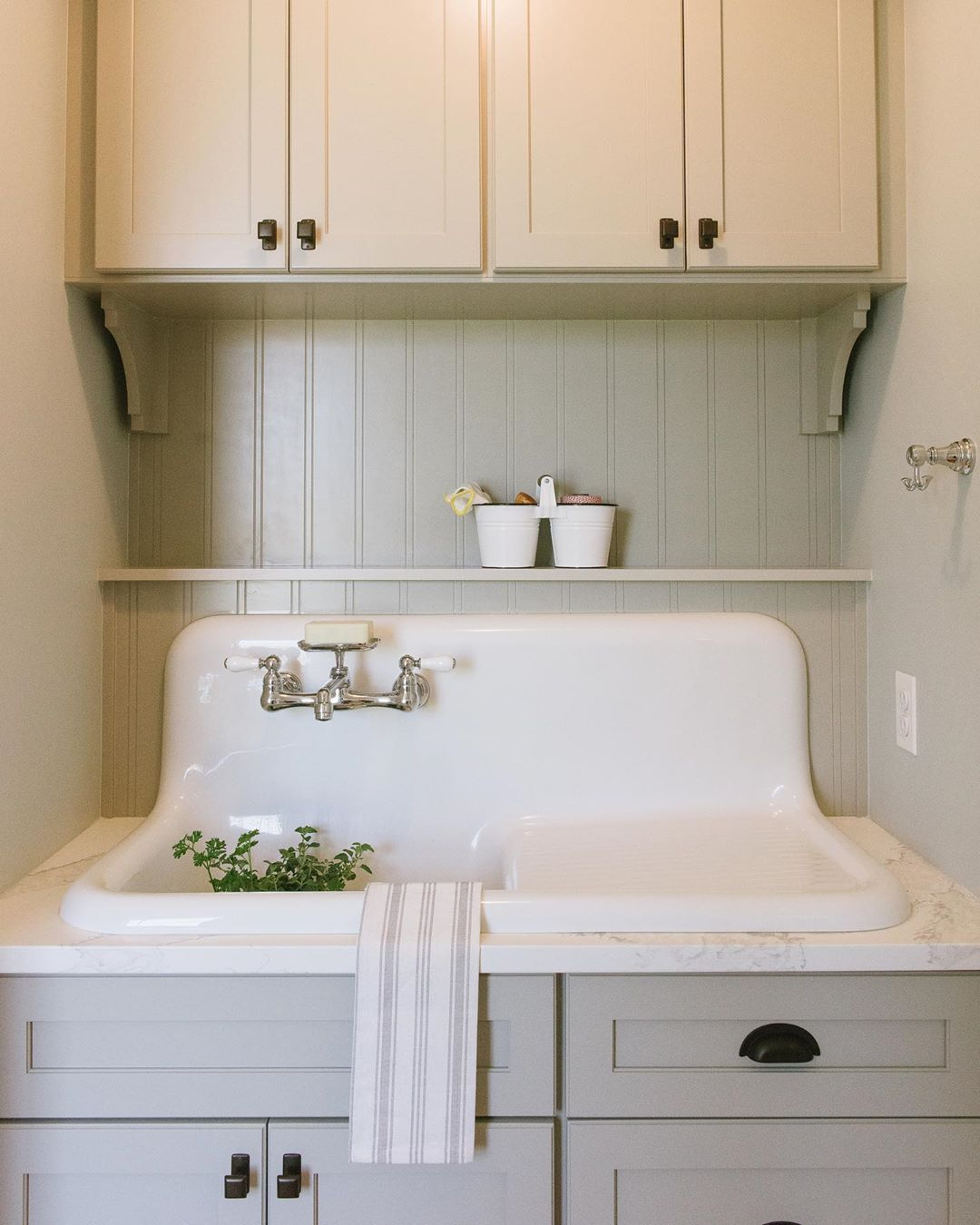10x10 Laundry Room Layout: Tuscan Blue Had The Best Time Designing The Mudroom Sink