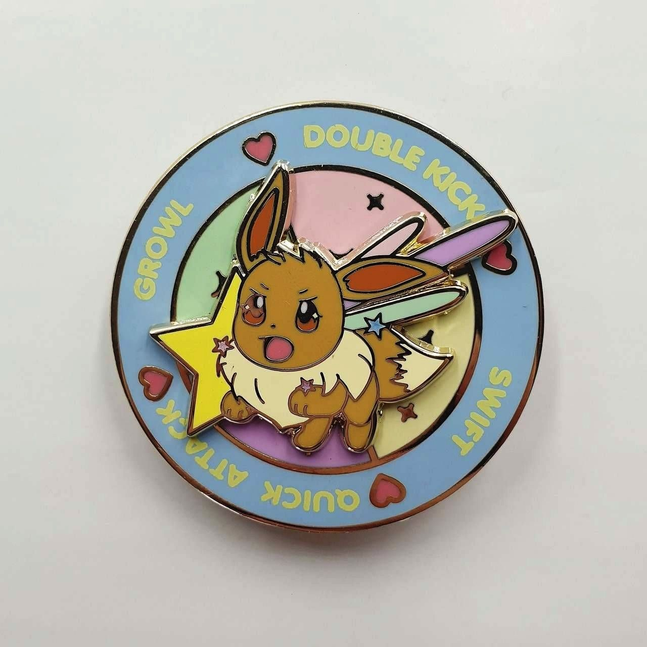 Pokemon Move Pins made by reallybigdill -Spinning Pokemon Move Pins made by reallybigdill -  New BC