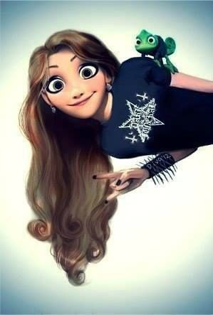 Raiponce punk disney princesse disney swag disney - Disney princesse raiponce ...