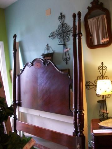 Four Poster Mahagony Queen Bed Designed For Change Augusta