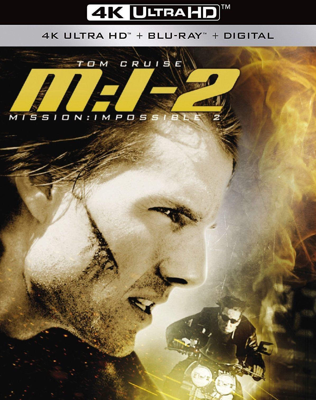 Mission Impossible Ii 4k 2000 Ultra Hd Blu Ray Tom Cruise Mission Impossible John Woo