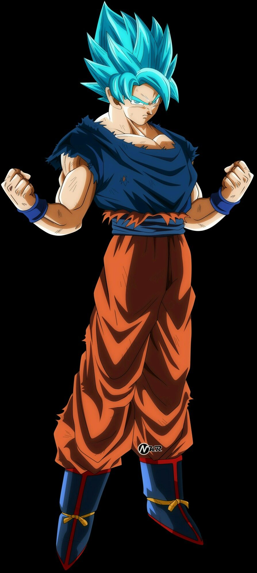 Goku Ssj Blue Universo 7 Dragon Ball Z Dragon Ball