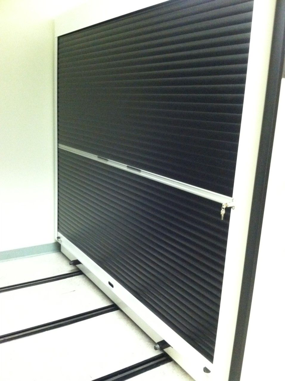 Rollok rolling security doors on a shelving application Black is one of 6 colors inventoried colors  sc 1 st  Pinterest & Rollok rolling security doors on a shelving application Black is one ...