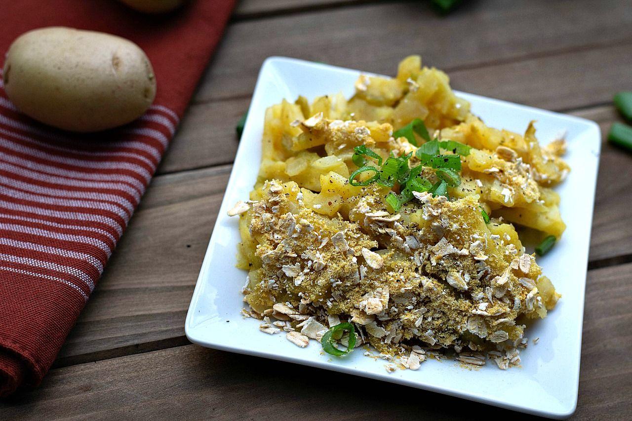 Vegan Funeral Potatoes Recipe Yummy Casseroles Potluck Dishes Recipes