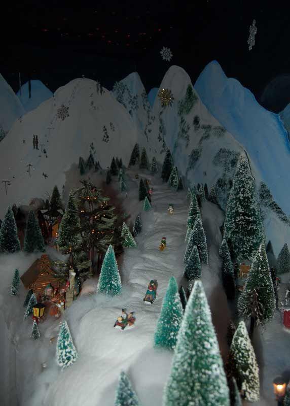 My  Christmas Village Pinterest Christmas Villages Christmas And Christmas Village Display