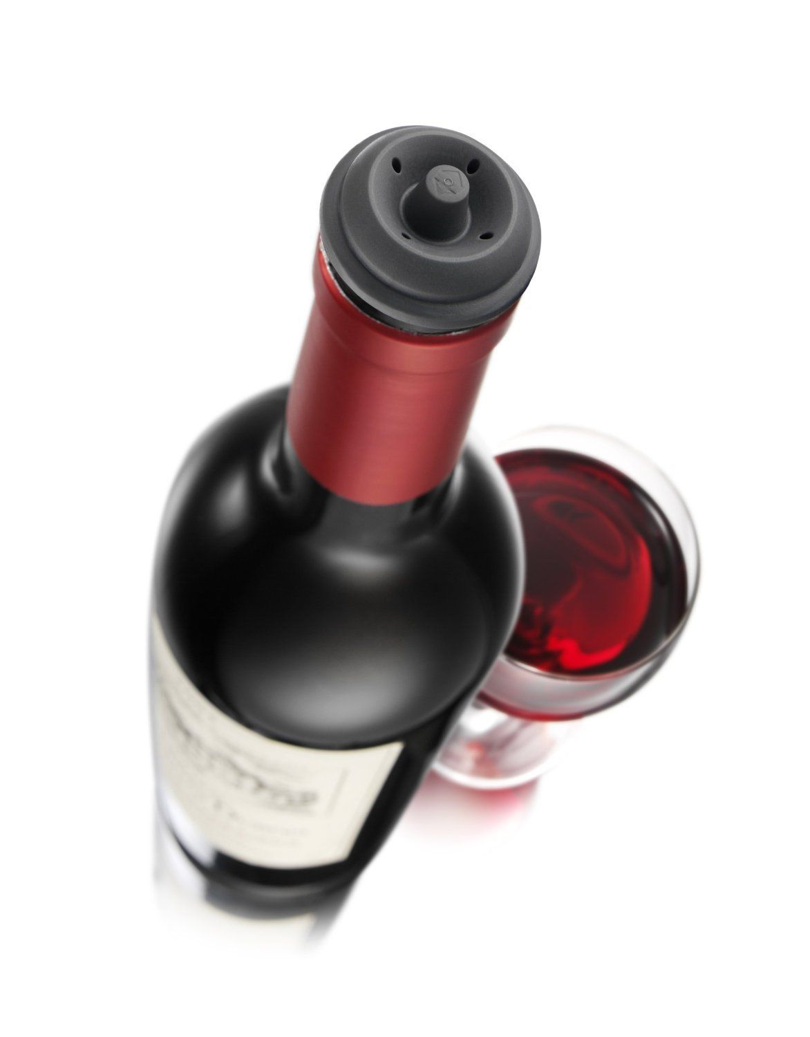 Vacu Vin Wine Saver Pump Black With 6 Vacuum Bottle Stoppers More Info Could Be Found At The Image Url It I Wine Stopper Set Wine Stoppers Bottle Stoppers