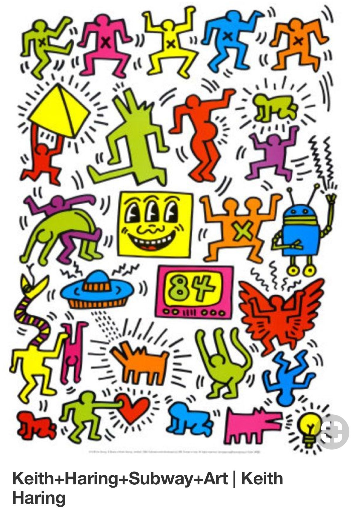 b309fef1 Some more Keith Haring character inspo! | The Shop at Shaw Mural in ...