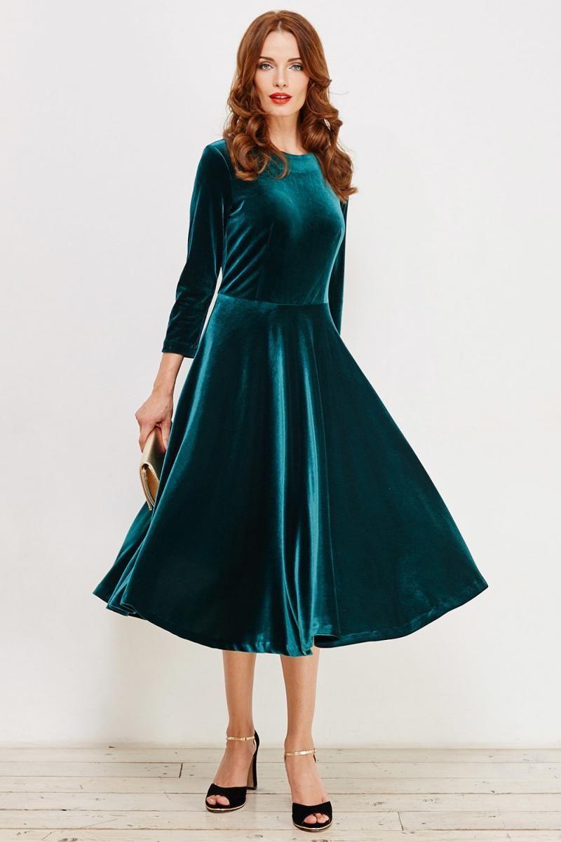 101b55e1461 Бархатное платье 2019 - 122 фото