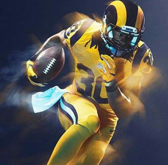Los Angeles Rams Los Angeles Rams Nfl Football Pictures Rams Color Rush