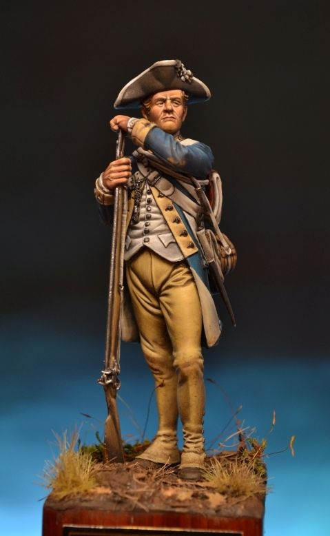 Completed - Private, 1st. New York Regiment Of Continental Line Jh/70.03 Jh/70.03 | planetFigure | Miniatures