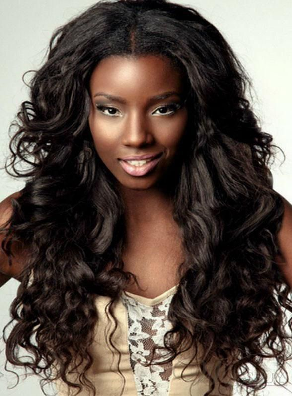Soft curls & best women hairstyles