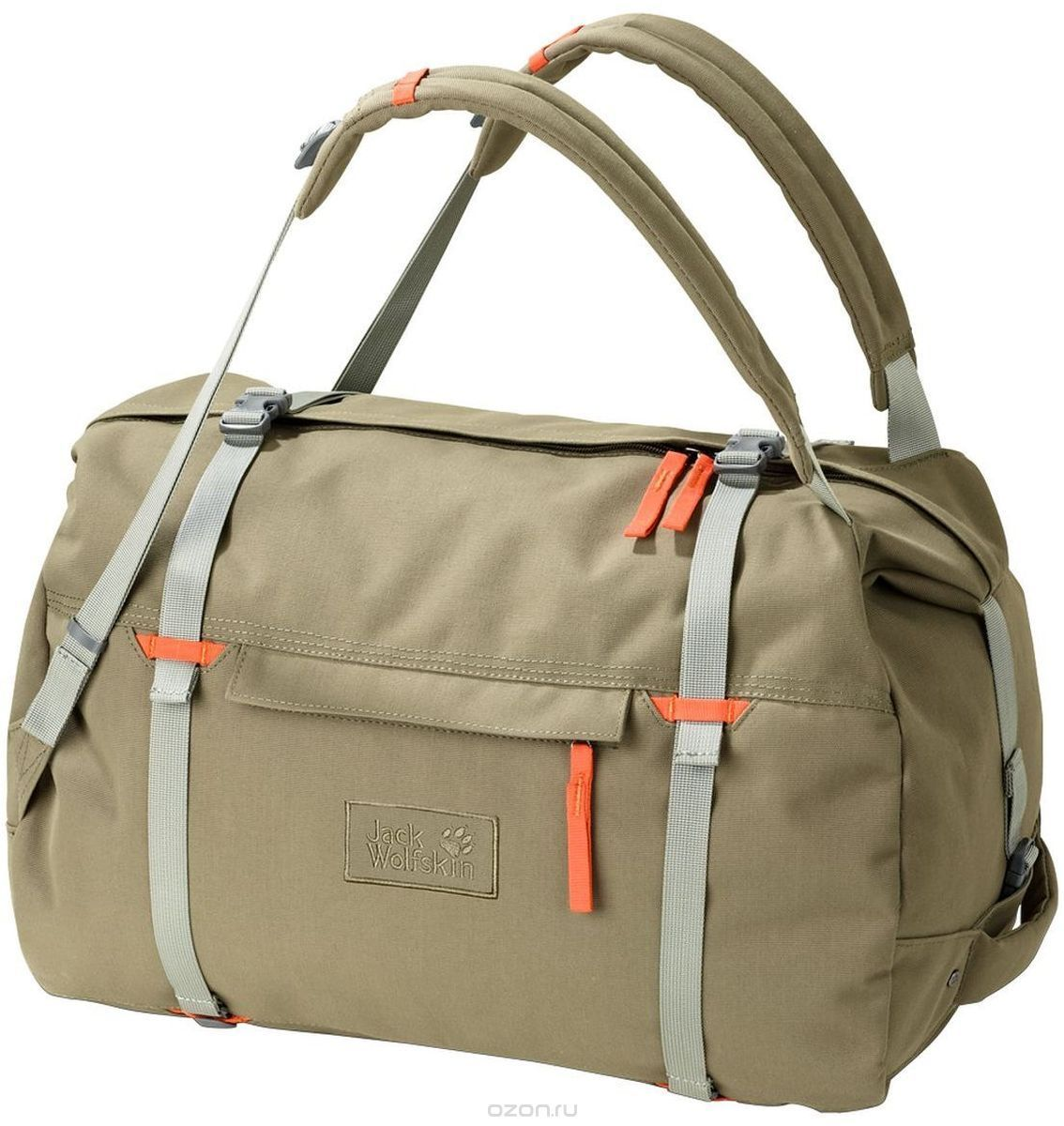 a07af7f1a707 Сумка-рюкзак Jack Wolfskin Roamer 80 Duffle , цвет: бежевый. 2005451-5033