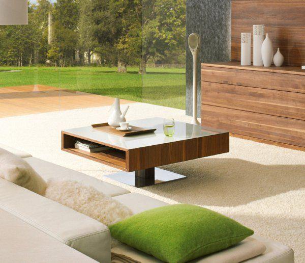 Moderne Wohnzimmer Tische, couchtisch aus holz - moderne wohnzimmertische, Design ideen
