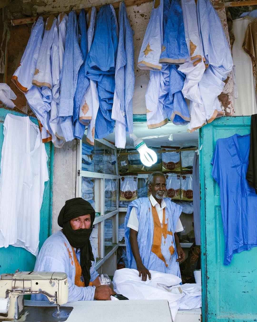 Ricci Shryock On Instagram Boubou Tailors In Nouakchott Mauritania The U S Government Announced This Month That It Will Ev Nouakchott Mauritania Instagram