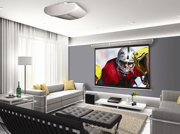 15 Cool And Minimalist Home Theater Design With Sofa Furnitures Home Design And Interior Living Room Home Theater Modern Family Rooms Living Room Decor Tv
