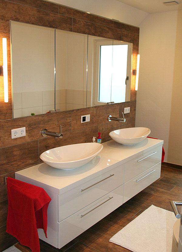 Villamia Unser Hausbau Spiegelschrank Badezimmer