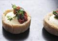 Mini tartelettes au Chèvre et aux olives