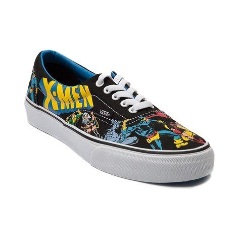Vans Era X-Men Skate Shoe in Black Blue