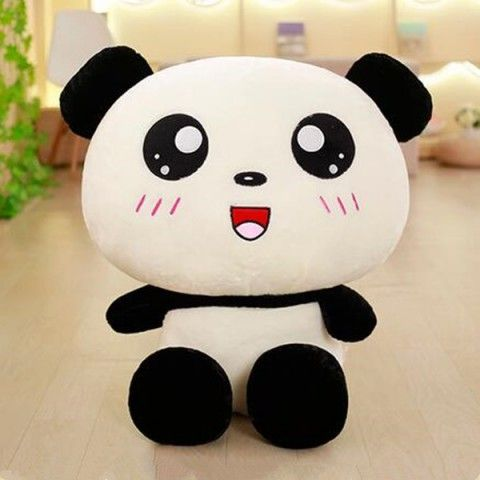 d412698d6 3D panda studded animals for girlfriend best birthday gifts big plush toys