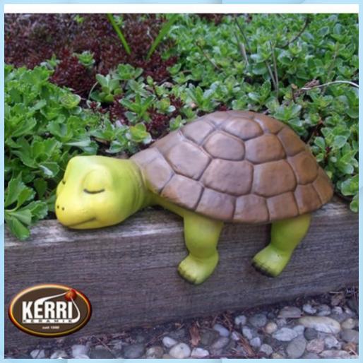 Schildkrote Turtle Schildkrotenfigur Kantenhocker Keramik Deko Garten Apfel Keramik Deko Esstisch Keramik Deko Gmundner Keram Keramik Gartenstecker Hocker