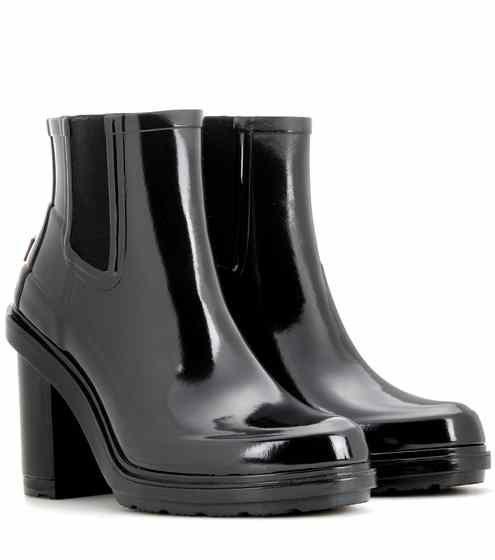 Original Refined High Heel rubber Chelsea boots   Hunter
