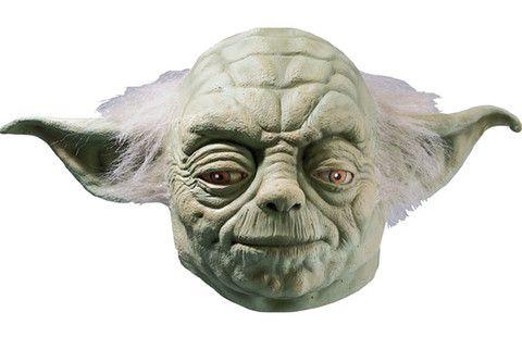 Revenge of the Sith Yoda Latex Hands Adult