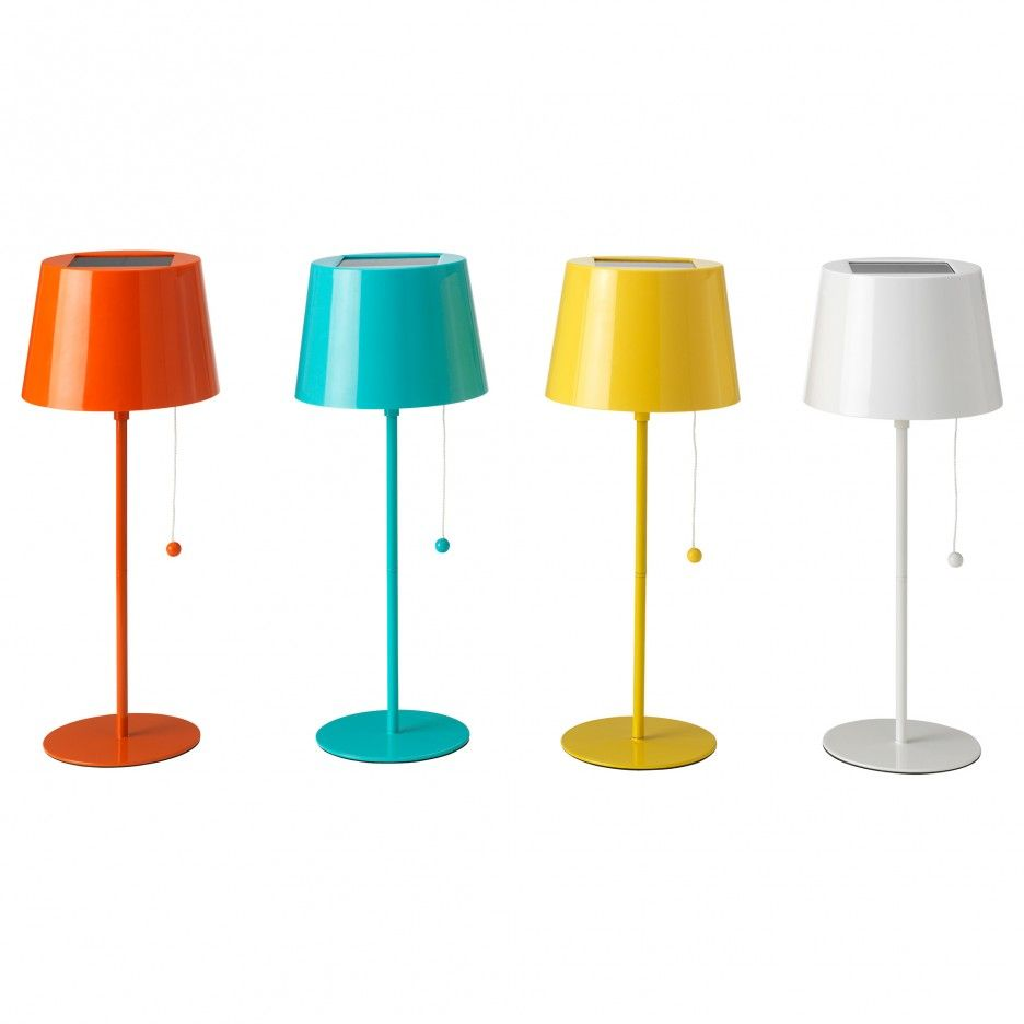 How to hang battery operated lamps httpbridgetonpdxhow solar powered lamps solvinden solar powered table lamp ikea no costs for electricity the solar panel converts sunlight to energy aloadofball Image collections