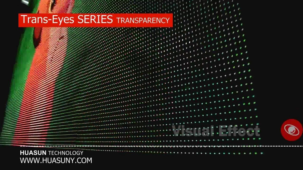 5000 Nits 85 Transparency Huasun Trans Eyes Transpa Led Display Gl