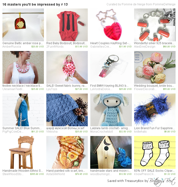 16 masters you'll be impressed by # 13 by PommedeNeige has our bodysuit! http://etsy.me/1TZxp7a #Etsy #treasury #baby #bodysuit