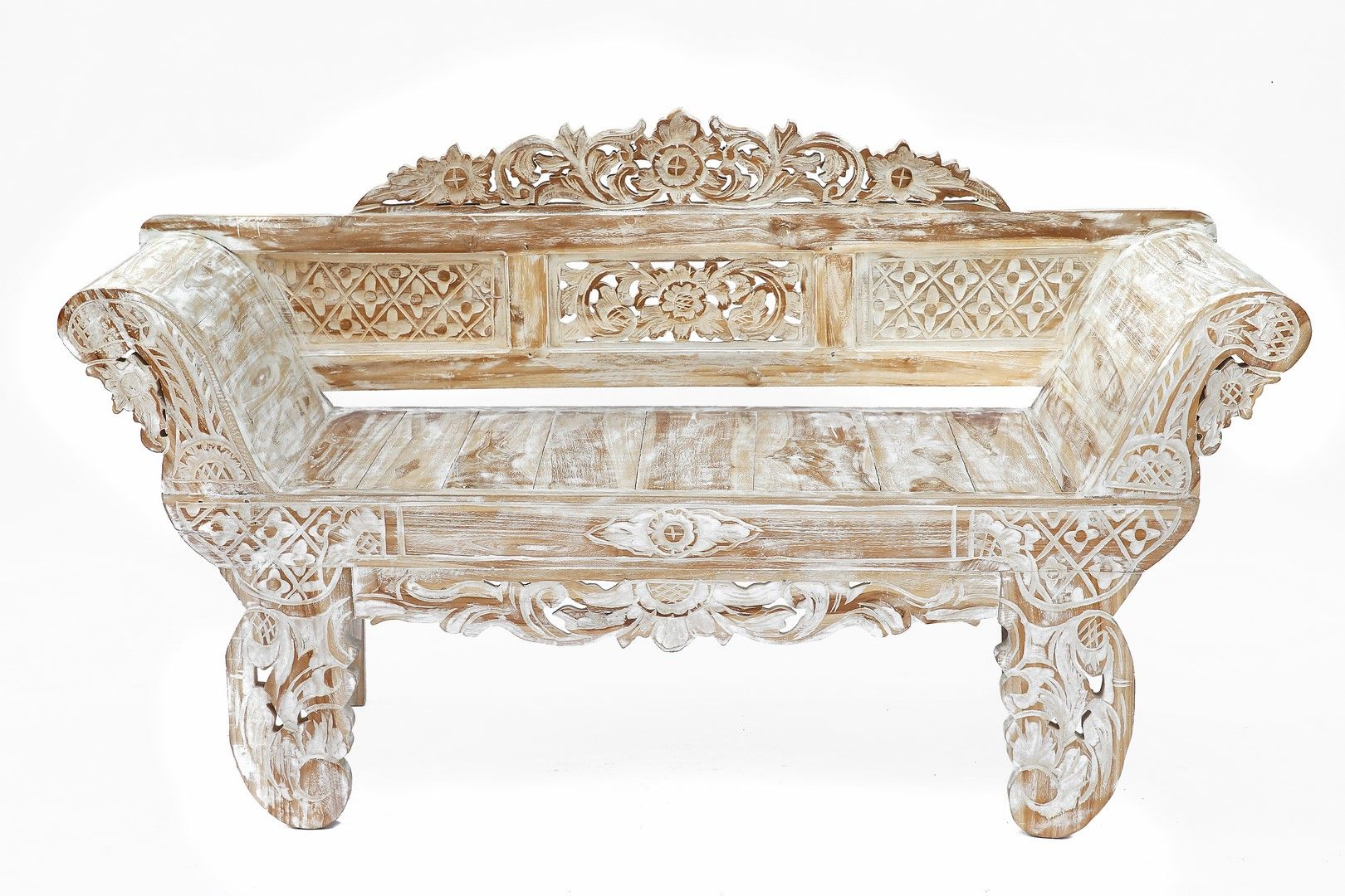 Banc En Bois Recycle Provenant D Anciennes Maisons Javanaises Sculpte A Bali Longueur 167 Cm Poids 37 Kg Furniture Decor Accent Chairs