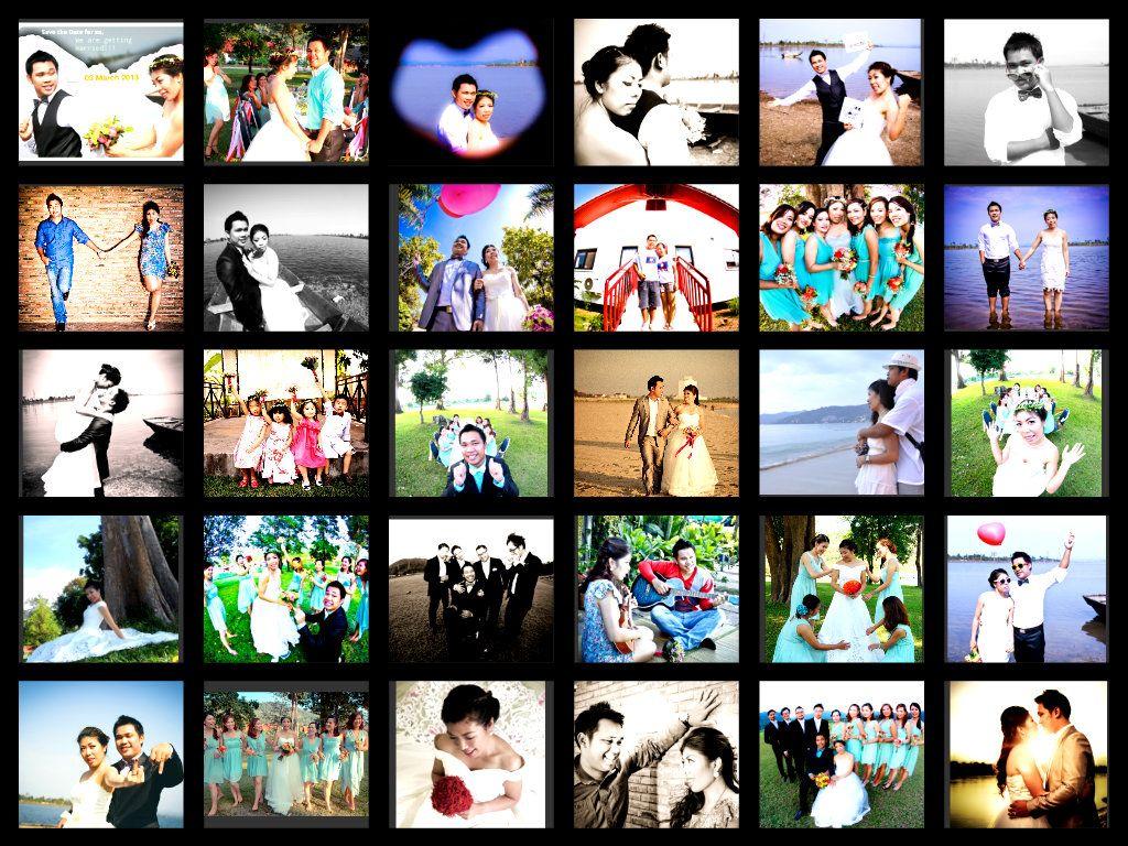 My wedding grid