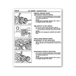 mitsubishi montero complete workshop repair manual 1992