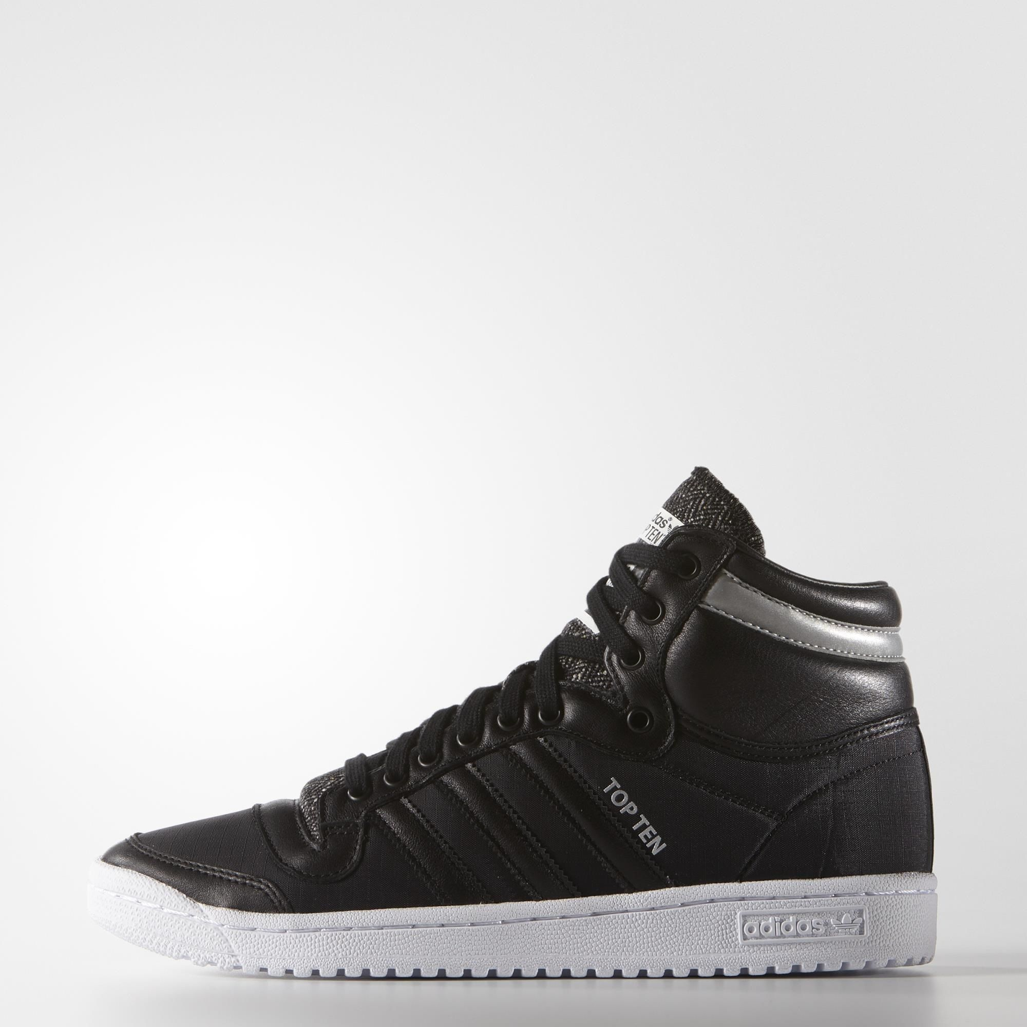 Top Ten Hi Winteriz- Black trainers