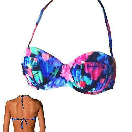 Candie's Bold Colors Bandeau Style Bikini Top - Size Women's X-Small, http://www.amazon.com/dp/B00YWO5U1Y/ref=cm_sw_r_pi_awdm_dUmrxbFNZGAFN