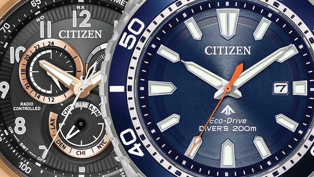 Top 10 Citizen Watches For Men Best Christmas And Holiday