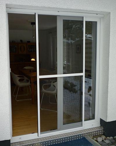 fliegengitter schiebet r 120x240 cm haushaltstips. Black Bedroom Furniture Sets. Home Design Ideas