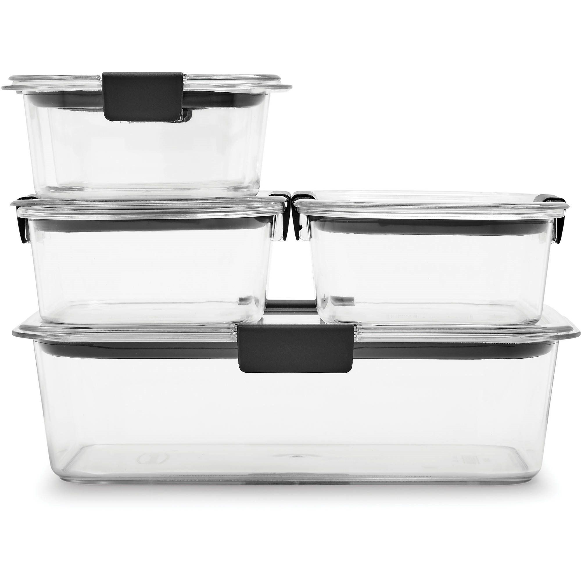 Rubbermaid Brilliance Food Storage Containers, 10-Piece ...