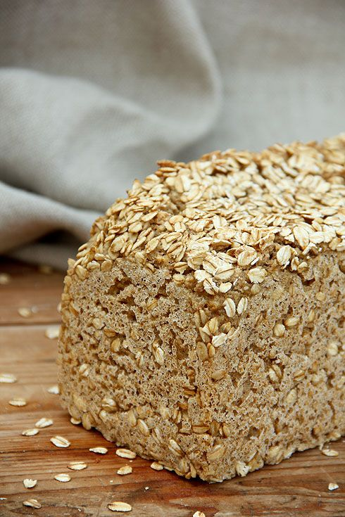 Reines Haferflockenbrot – Plötzblog – Selbst gutes Brot backen
