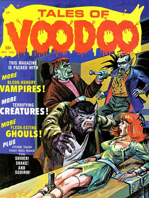 Tales of Voodoo Vol. 3 #4 (Eerie Publications 1970) by Aeron Alfrey, via Flickr