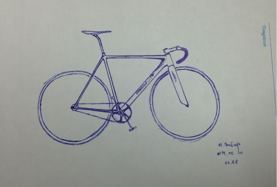 Drawing Fixie Fixedgear Fixedgear Fixie Drawings