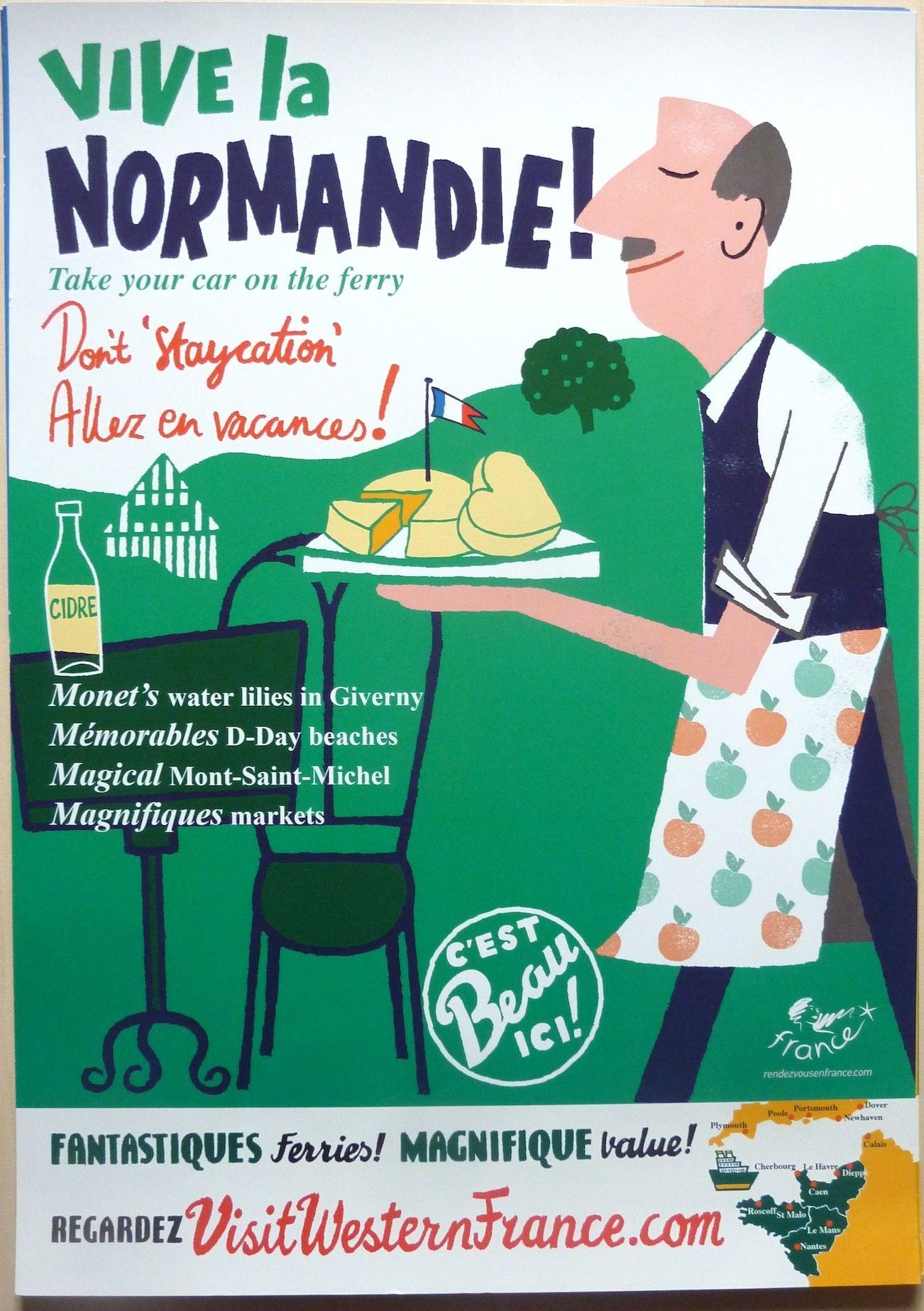 Viva la Normandie, Visit Western France Designed by UK