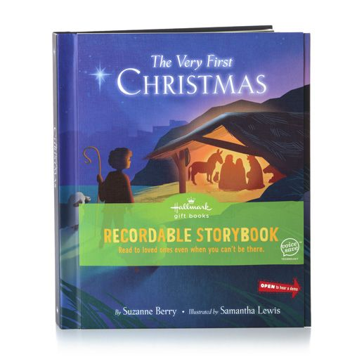 Hallmark Recordable Storybook The Very First Christmas