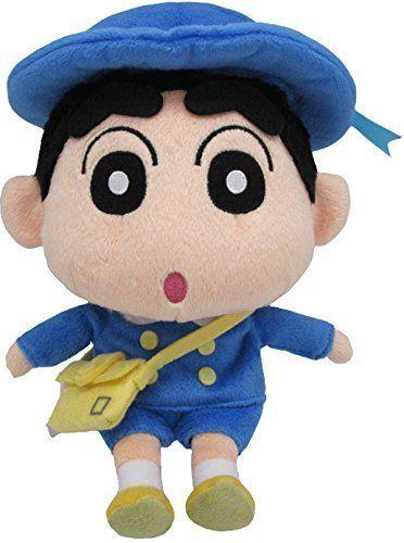 New Crayon Shin Chan Transformed Kindergarten Uniform Plush Doll