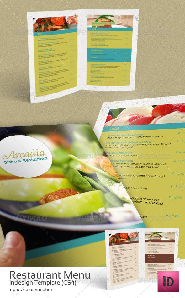 Restaurant Menu Print templates, Menu and Menu printing - sample menu template